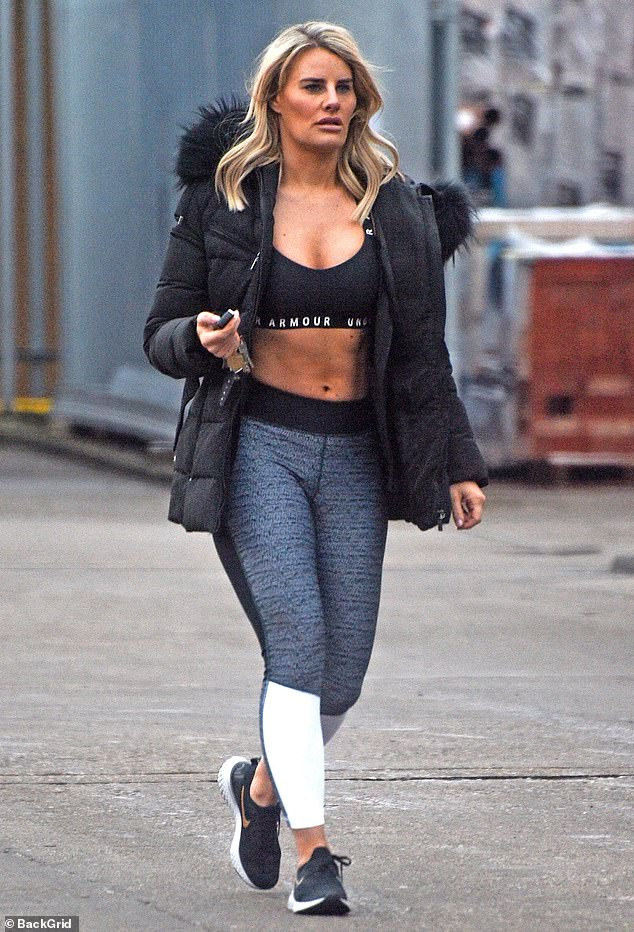 Lifestyle change:Danielle honed her athletic figure after she embarked on a new fitness journey with former TOWIE co-star Ferne McCann