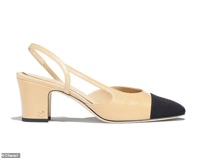 M&S shoes are striking similarity to a pair from Chanel, which at £650 cost 16 times as much