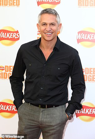 Gary Lineker teamed up with Winston's grandson Churchill today to mourn the Brexit and ask Britan and Germany to stay friends