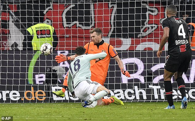 Leverkusen came from behind after a Leon Goretzka goal had put the champions ahead