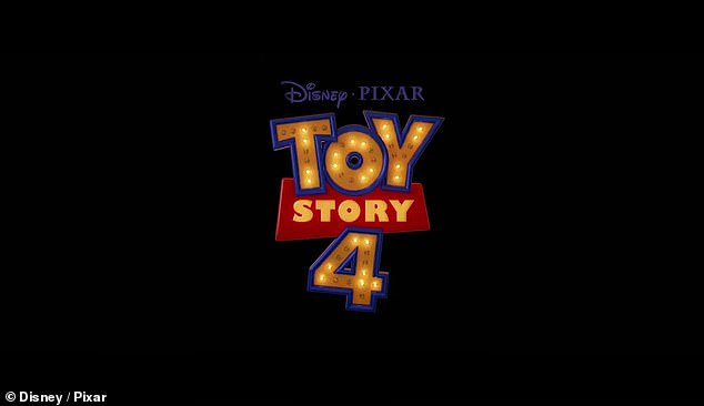 Pixar sequel: the trailer ends with the Toy Story 4 logo, along with the official release date, June 21st for the sequel to Disney Pixar