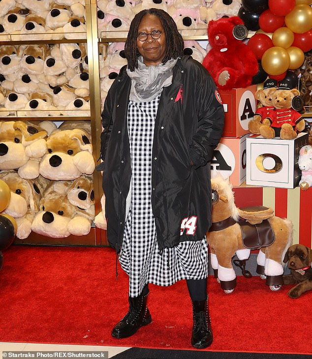 Pick me!In 2019, Whoopi revealed that she was turned down by BBC bosses when she offered to take on the role of the first female Doctor Who (pictured in November 2018)