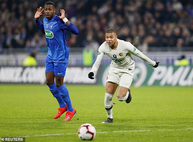 Kylian Mbappe was chucked on in the second half to spare the blushes of the Ligue 1 leaders