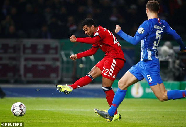 Bayern dominated the German Cup tie but somehow failed to win in normal time