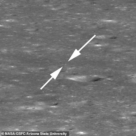 The Lunar Reconnaissance Orbiter (LRO) captured the latest image a month after Chang¿e 4 landed on the far side of the moon