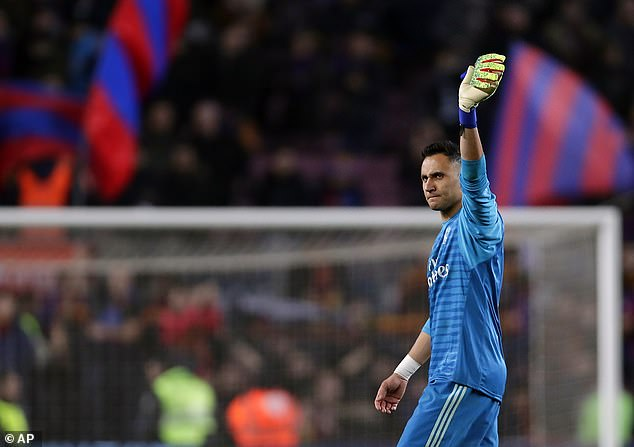 Real Madrid goalkeeper Keylor Navas has called on his side to finish Barcelona off at home