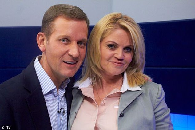 Looking for help: Danniella Westbrook went into rehab in an attempt to finally overcome her problems with drugs and alcohol after her dear friend Jeremy Kyle agreed to send her to a treatment facility (pictured together in 2012