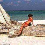 Rita Ora share throwback bikini photo