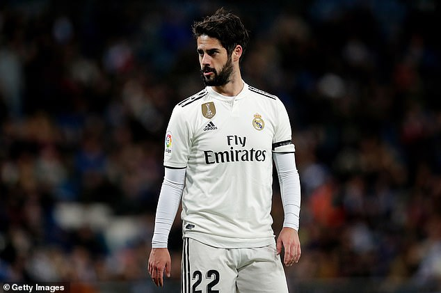 The Spanish playmaker has had opportunities from the bench but has struggled to take them  Real Madrid to offer player plus cash to Chelsea to sign Eden Hazard 9565402 0 image a 82 1549643098159