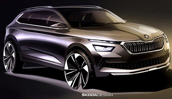 All new Skoda:Skoda is to launch a smart new 'baby' sports utility vehicle called Kamiq to take on Renault's Captur and Nissan's Juke