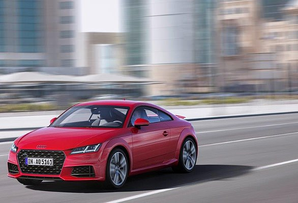Upgraded: Audi has updated coupe and roadster with styling and performance improvements