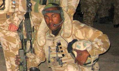 Black soldier wins record £500,000 compensation from MoD for playing  Taliban in training video | Daily Mail Online