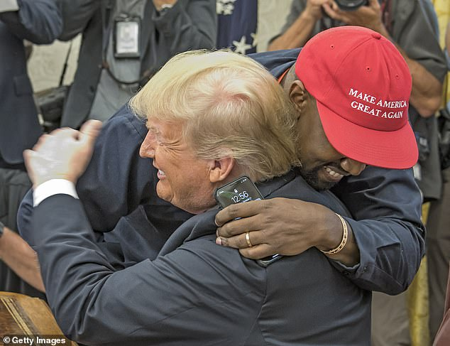 He is a fan! In fact, Kanye is a staunch supporter of Trump and often leads on his social media to lend his support to the Republican leader