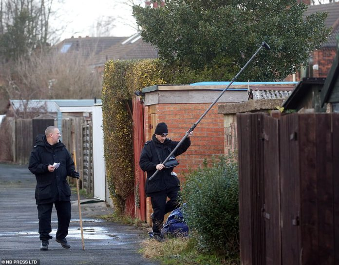 Officers used the high-tech cameras to search outbuildings in Hull near the student's home, which was missing after a night on January 31