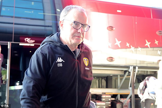 Leeds managerMarcelo Bielsa admitted to spying on other club's training session last month
