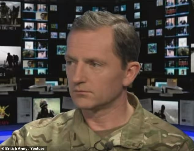 Britain's top commander against the group, Christopher Ghika, said terrorists in Syria and Iraq were trying to 'reassert' themselves online