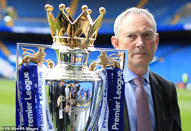 Richard Scudamore stepped down from his role as Premier League chief executive last year