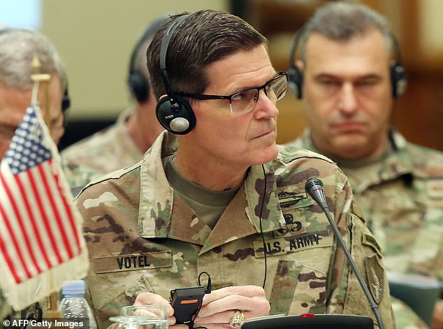 The top US commander in the war against ISIS says there are 'tens of thousands' of fighters spread across Syria and Iraq