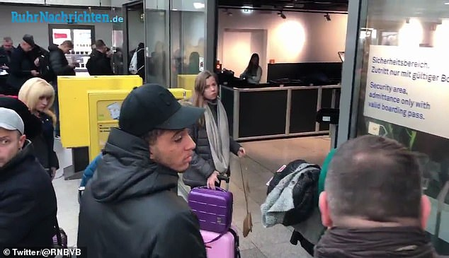 Sancho returned home to pick up his passport after he and Abdou Diallo forgot to bring them