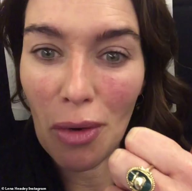 Free Make-up: Tuesday, Lena shared a video in which she urged fans to watch her new independent film Fighting With My Family, which was on the press circuit to promote