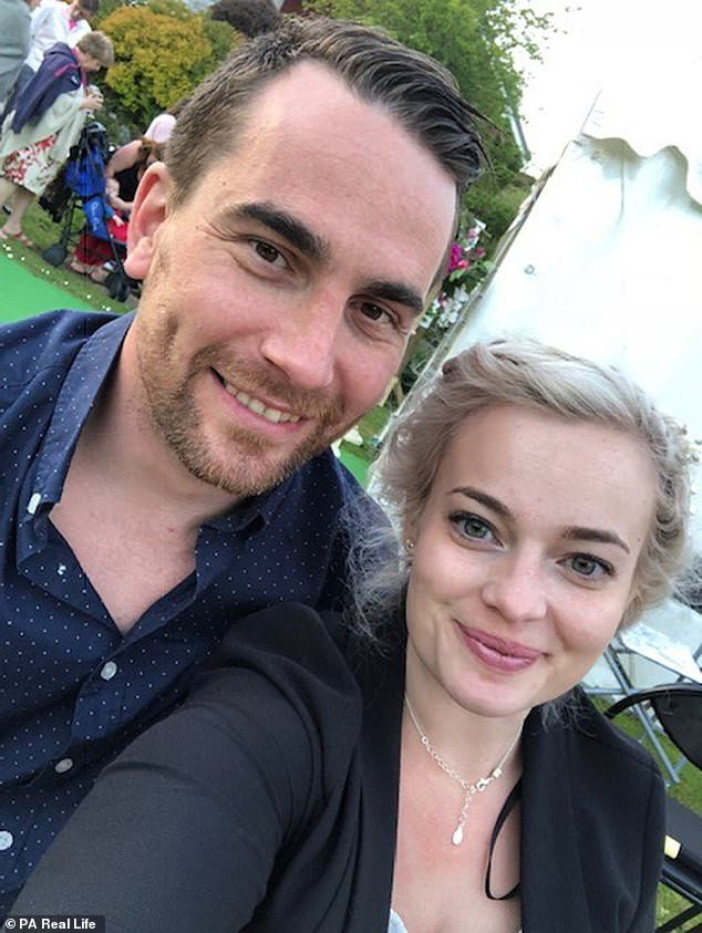 Kate Stallard, 28, feared her arthritis would be a barrier to her relationship with Karl Lovell, 31