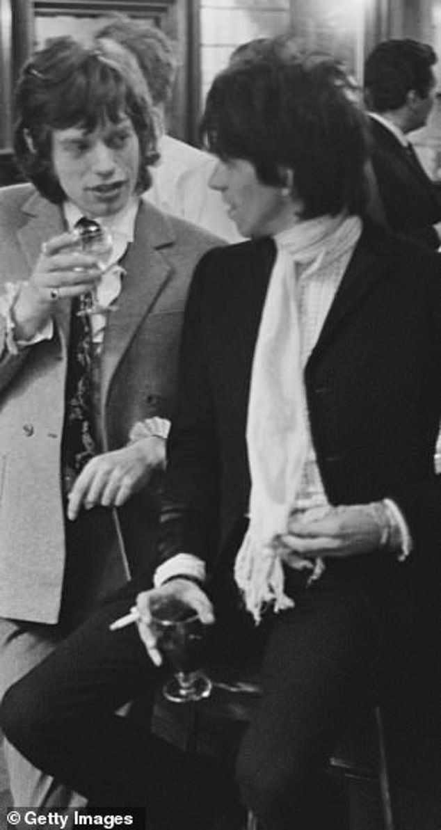 Legend: The Rolling Stones, whose founding member is Richards, are so famous for their hedonism and debauchery that their actions in the heyday of the band set the bar for a decadent rock star (with Mick Jagger).
