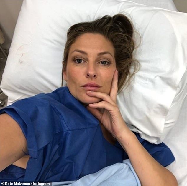 Kate Malvenan (pictured)who was misdiagnosed with a chest infection discovered she was actually suffering from lung cancer - despite never having smoked in her life