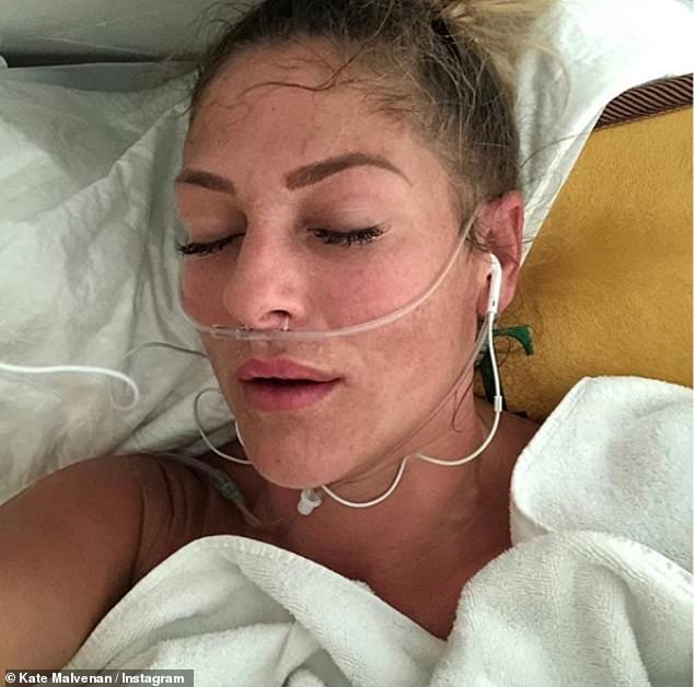 Ms Malvenan has since returned to Cancun for her second round of treatment, costing her another $64,000 after raising money through her homeware business