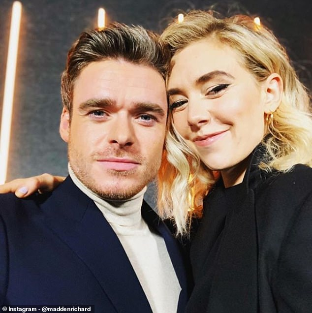 Cosy:Whilst out and about with Vanessa, Richard took a selfie with the actress, and later took to his Instagram account to share the snap with his followers