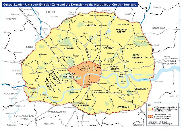 ULEZ wants to be introduced in Central London in April and extended to the North and South Circular Road from October 2021. Owners of older cars - both petrol and diesel - will be charged £ 12.50 a day to drive if their vehicles do not adhere to ULEZ standards