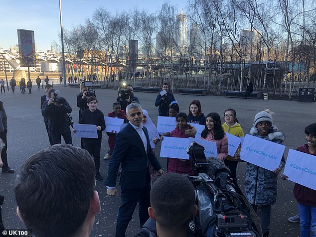 London to get scrappage scheme: Sadiq Khan plans to launch a car scrappage scheme for 'low income' families in the capital during a clean air summit attended by city leaders on Thursday