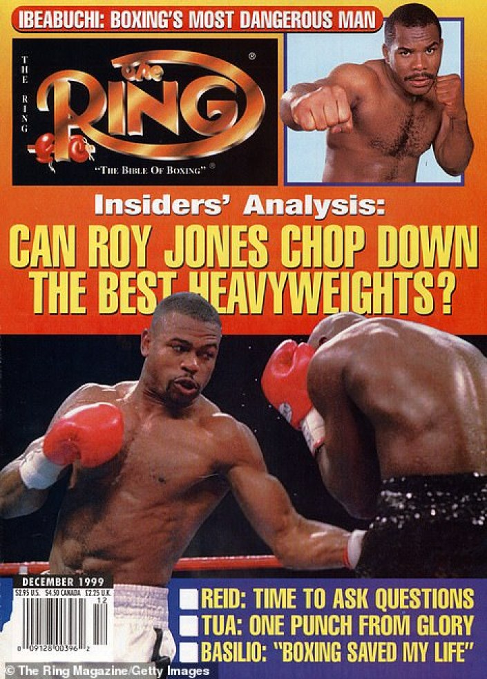 It also dubbed him 'boxing's most dangerous man' in 1999