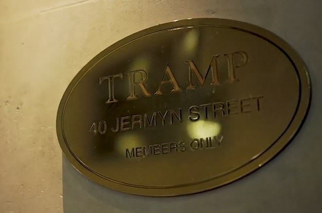 The member club is a meeting point in London where the rich and famous can let themselves go