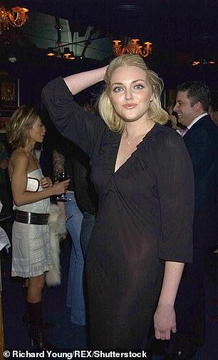 Sophie Dahl at Tramp in 2001