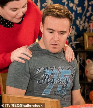 Soap star: Alan has played Tyrone Dobbs on Corrie since 1998