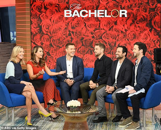 Bachelor Colton Underwood joins Nick Viall, Tanner Tolbert ...