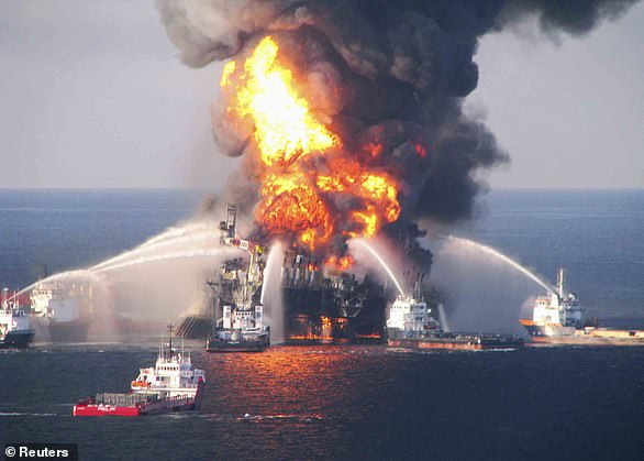 The BP drilling rig exploded in April 2010, killing 11 workers and spewing about 72 million gallons of oil into the Gulf through the summer