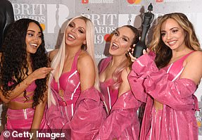 Champs: Little Mix took home the gong for British Video