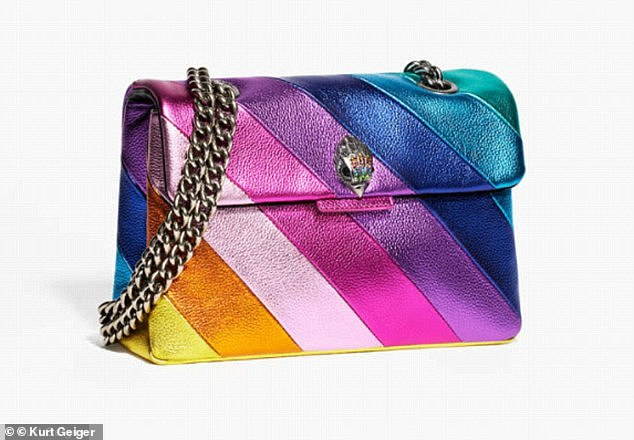 Launched in 2017, the rainbow coloured Kensington Bag sold out instantly in stores before being relaunched in September 2018