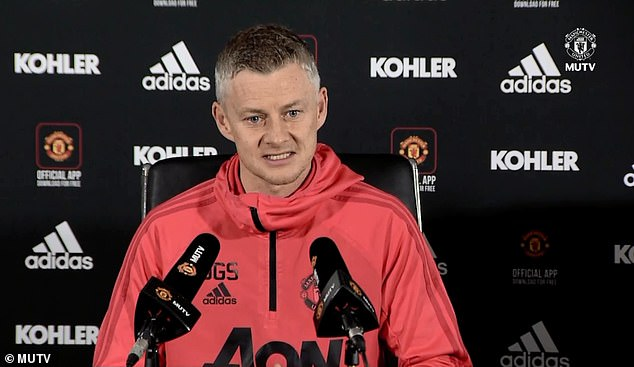 Solskjaer wants his players to know how important the visit of Liverpool on Sunday is  SOLSKJAER REVEALS HOW HE PLANS TO USE SIR ALEX FERGUSON AHEAD OF MAN UNITED CLASH WITH LIVERPOOL 10135540 6733001 image m 14 1550826406435