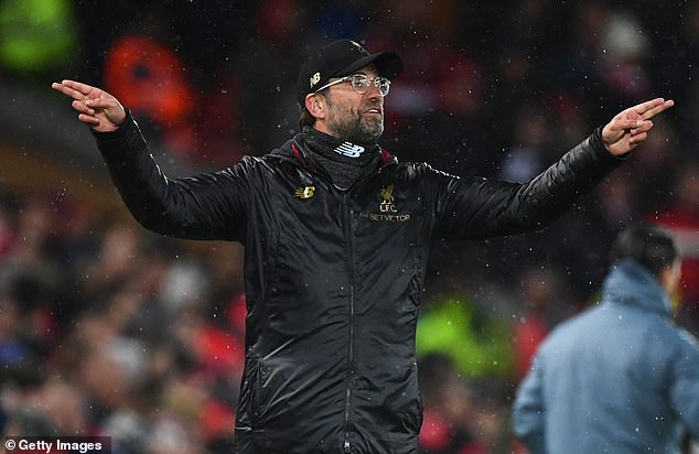 Klopp is looking for Liverpool to produce their most compelling performance of 2019  KLOPP REVEALS OLD TRAFFORD RECORD THE REASON LIVERPOOL MUST BEAT MAN UNITED 10163292 0 image a 37 1550874304274