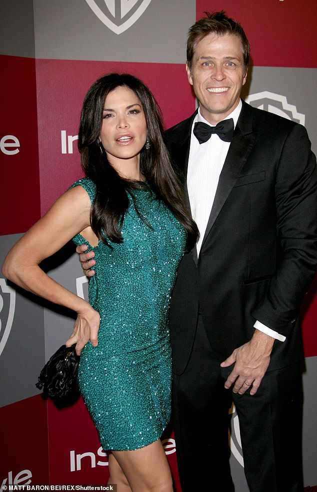 Lauren Sanchez and now estranged husband Patrick Whitesell pictured in 2011 at the 68th Annual Golden Globe Awards