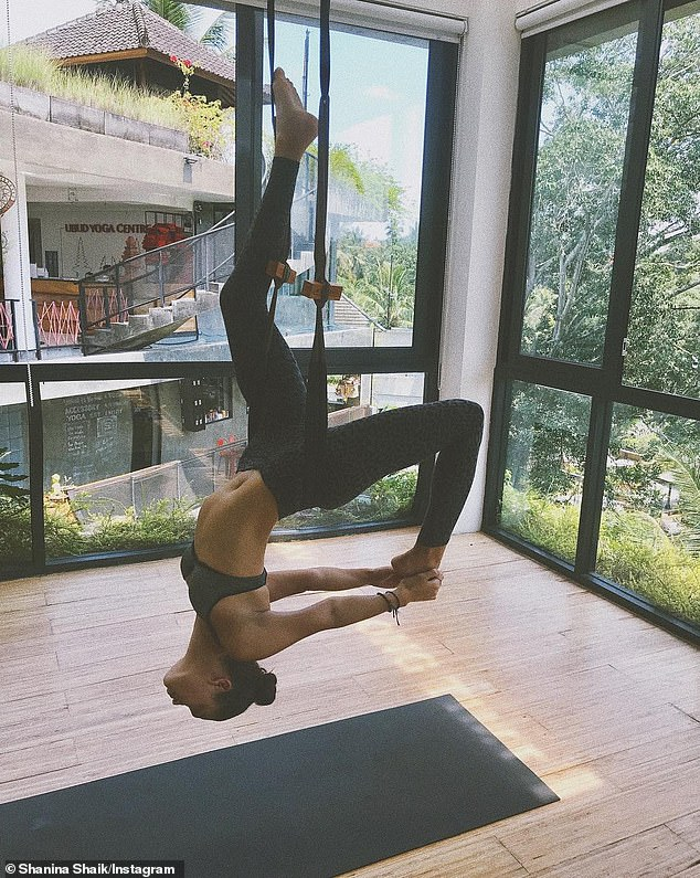 Pilates fan:The Hot Pilates studio has become the latest fitness craze, with the steamy workout class a favourite among models in LA