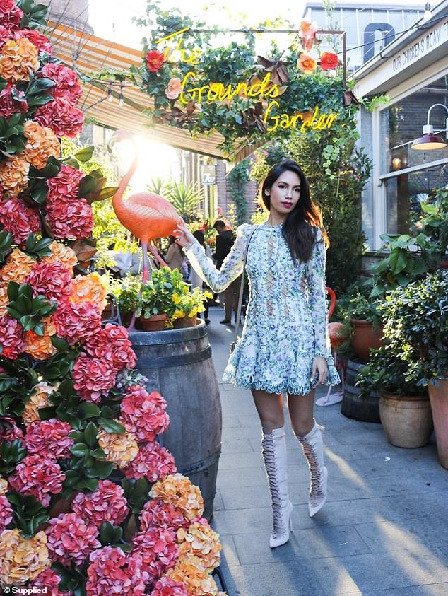 La mannequin Emily Kate Symes (photo) était horrifiée par la quantité de déchets qu'elle avait vus dans l'industrie de la mode à l'étranger - et a décidé de faire quelque chose à ce sujet.