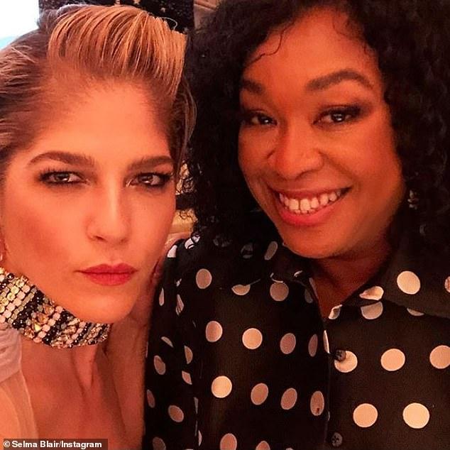 Selma and Shonda: Selma shared an Instagram photo of herself with Grey's Anatomy creator Shonda Rhimes