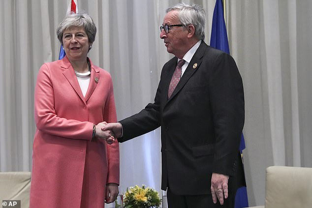 The PM also met EU commission president Jean-Claude Juncker in Sharm El-Sheikh today