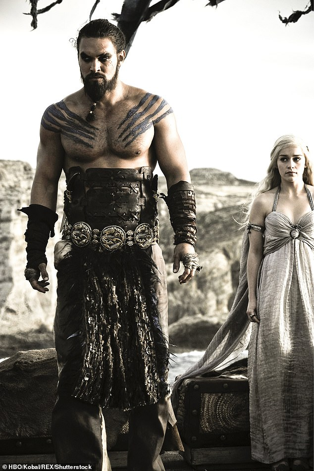 Short stint: Jason played warrior Dothraki leader Khal in 10 episodes between 2011 and 2012, the husband of Daenerys through an arranged marriage