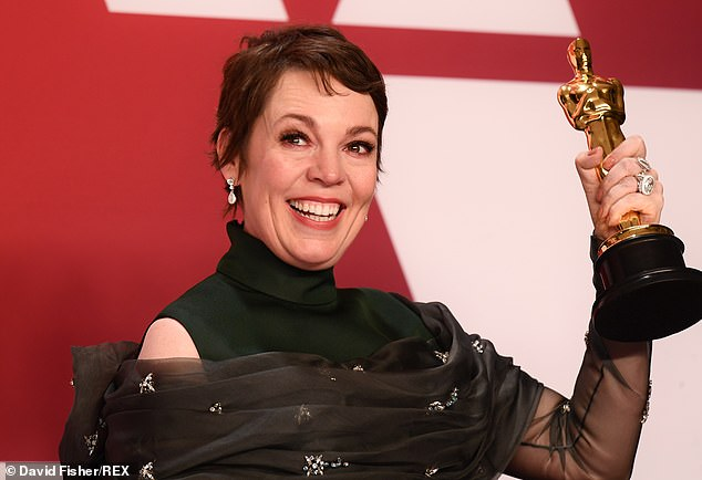 Olivia Colman won Lead Actress at the Oscars on Sunday, but now it's time for the real awards