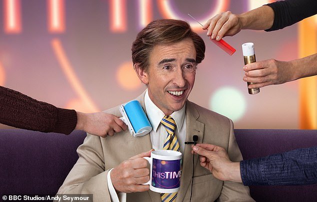 Alan Partridge,created and played comedian Steve Coogan with the help of satirist Armando Iannucci, is returning to the BBC after a 24 year hiatus with a series called This Time