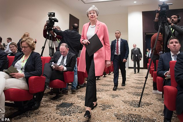 Mrs May has been left pleading for Remainer ministers not to crash her strategy by joining efforts to force a Brexit delay in crunch votes on Wednesday